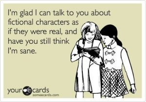 fictional characters and sane